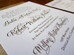 wedding invitations calligraphy calligraphy services island