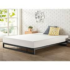 Bed Box Spring Frame Amazon Com Zinus 7 Inch Heavy Duty Low Profile Platforma Bed