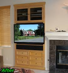 Flat Screen Tv Armoire How To Retrofit Or Modify Your Old Entertainment Center To