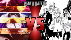 the seven deadly sins seven deadly sins fma vs seven deadly sins nnt death battle