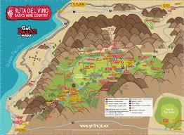 Map Of Cabo San Lucas Mapa Ruta Del Vino Baja Mexico Gotbaja Maps 2 Valle De Guadalupe