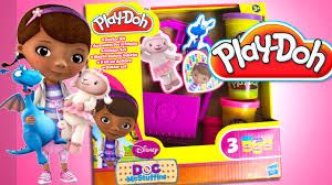 play doh doc mcstuffins doctor kit playset disney junior playdough
