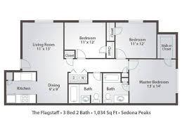 3 bed 2 bath floor plans 3 bedroom apartment floor plans pricing sedona peaks avondale az