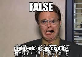 Dwight Meme - false dwight fifth world know your meme