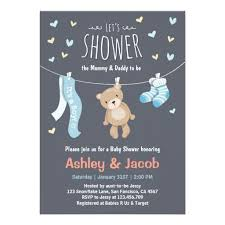 337 best bear baby shower invitations images on pinterest baby