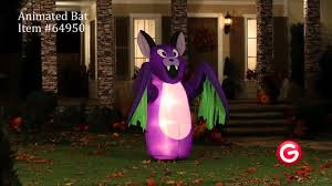 gemmy animated airblown inflatable 64950 animated bat youtube