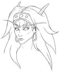 blood elf sketch by letrasiant on deviantart