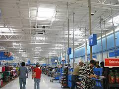 walmart lighting survey