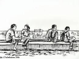 sketches alokation art