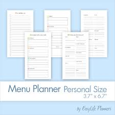 weekly menu templates free weekly menu template 20 free psd eps format free