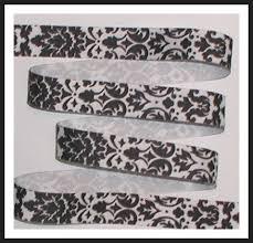 damask ribbon 7 8 grosgrain ribbon originalsbycindy artfire shop