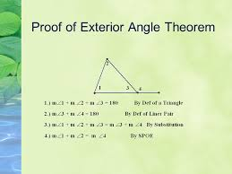 The Interior Angles Of A Triangle Always Add Up To Triangles Part 1 The Sum Of The Angles In A Triangle Is Always