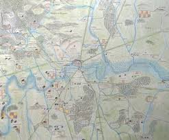 anglo saxon london map updated londonist