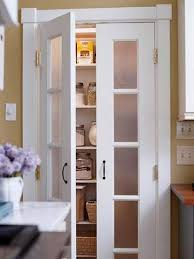 Pantry Closet Doors Kitchen Pantry Design Ideas Frosted Glass Pantry Door Glass