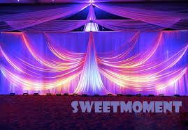 wedding backdrop buy a set luxury wedding drape pipe for wedding backdrop with