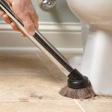 how to clean a bathroom faster and better wet hair cleaning