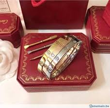 bracelet cartier love images Bracelet cartier love a vendre 2ememain be jpg