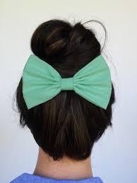 big hair bows mint hair bow clip mint hair clip big mint by myprettyhairbow on