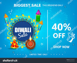 diwali festival sale 40 text stock vector 706338790