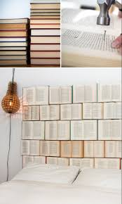 Would Love To Do Things by Book Headboard I Would Love To Do This But I Don U0027t Think I Have