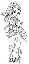 amazing exciting monster high coloring sheets fee free printable