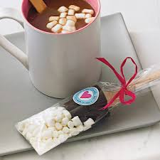hot chocolate gift hot chocolate dippers with marshmallows marshmallow hot