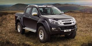 arctic maserati isuzu d max at35 unveiled ready to tackle the arctic but not