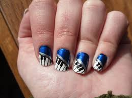 piano keys nail art image collections nail art designs