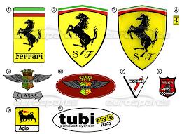 ferrari miscellaneous ferrari stickers logo page 011 order