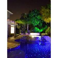 Landscape Laser Light Blisslights Spright Motion Blue Laser Light Remote Outdoors