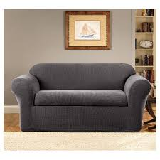 Grey Slipcover Chair Gray Slipcovers U0026 Futon Covers Target