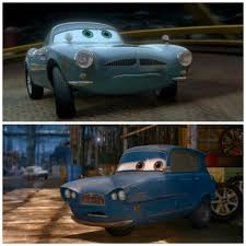 fin mcmissle dan the pixar fan cars 2 finn mcmissile and tomber