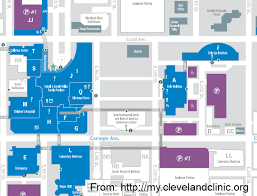 map of cleveland clinic trip report part two intercontinental hotel cleveland