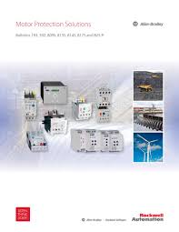 193 best brochure design u0026 motor protection solutions rockwell automation pdf catalogue