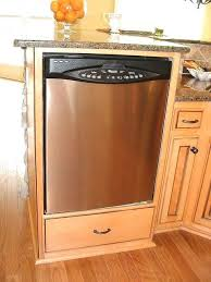 cabinet opening for dishwasher dishwasher cabinet plans raised dishwasher portable dishwasher