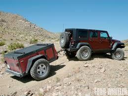 jeep wrangler cargo trailer mopar jeep trailer review trailer for trails