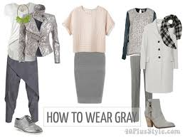 What Colors Go With Grey How To Wear Gray U2013 Choose Color Combinations And Ensembles