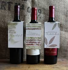 Thanksgiving 2014 Gifts Thanksgiving Wine Bottle Gift Tags Cu Rio
