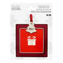 tree ornament picture frames