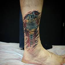 80 ridiculously cool tattoos for men biomechanical tattoo