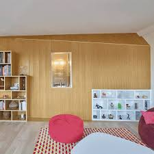 French Apartments Clutter Concealed Within Wooden Walls Inside French Apartment