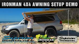 4x4 Awning Ironman 4x4 Instant Awning Setup And Demo Youtube
