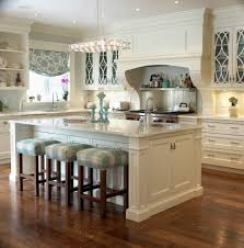 country style kitchen with open shelving clear view cabinets and