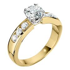 gold engagement ring setting only yellow gold engagement ring settings are a comeback jabel