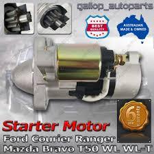 mazda bravo t50 wl wl t starter motor ford courier ranger pj pk