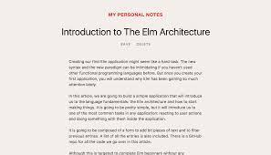 the structure of an elm application css tricks