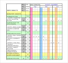 Schedule Templates Excel Schedule Template 8 Free Sle Exle Format
