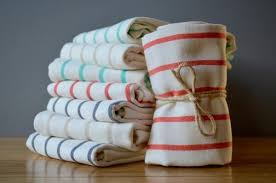 turkish cotton or linen dish towels indigo traders