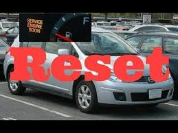 service engine light on nissan how to reset service engine soon light on a 2010 nissan versa