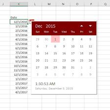 format date in excel 2007 excel date picker sam radakovitz